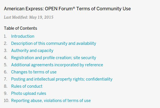 How to conduct an open forum